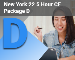 New York 22.5 Hour CE Package D